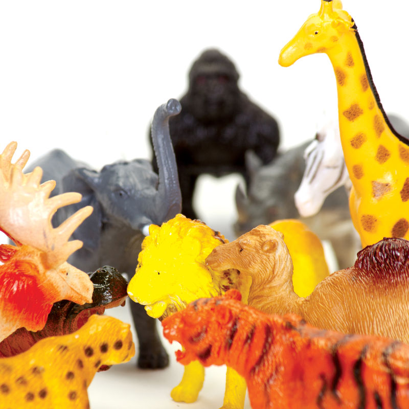 Safari Toys For Boys : Wild world safari figures little lulubel