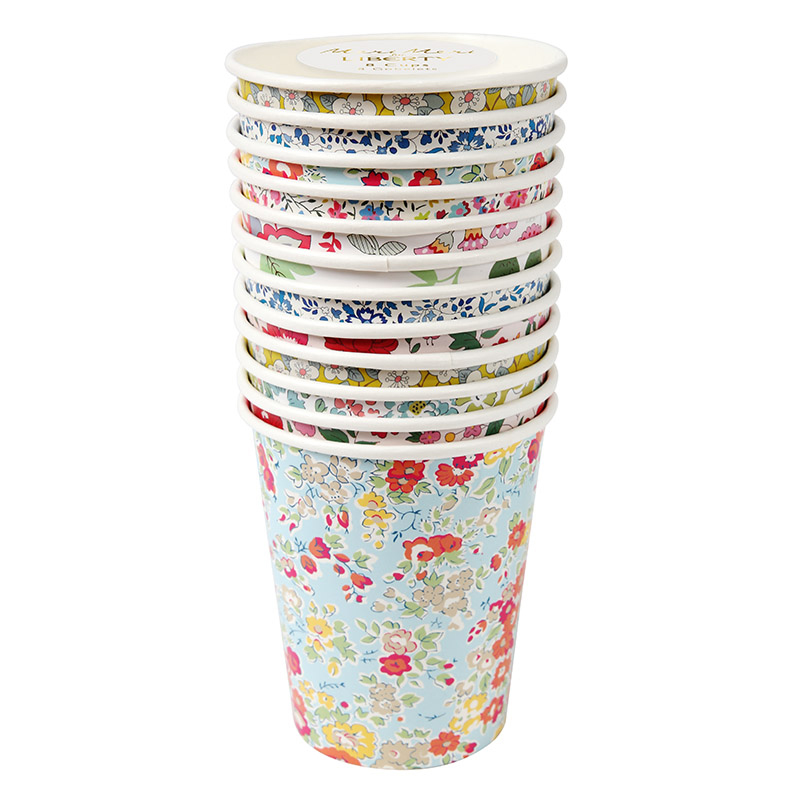 12 Assorted Liberty Cups