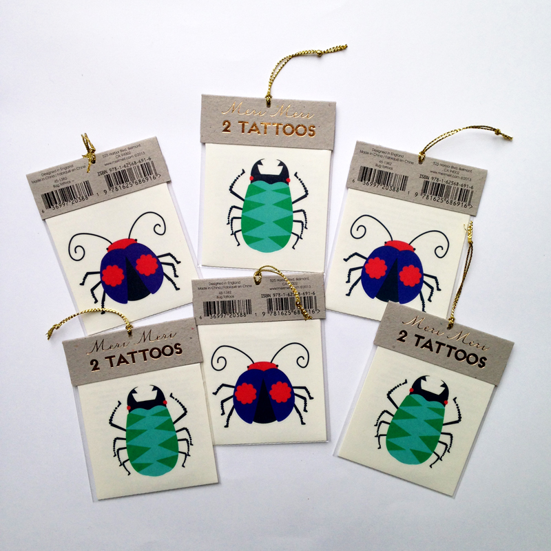 Bug tattoos