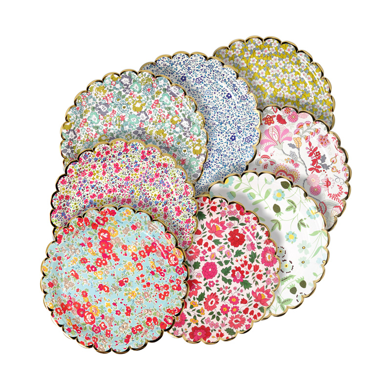 Liberty mix prints Plates