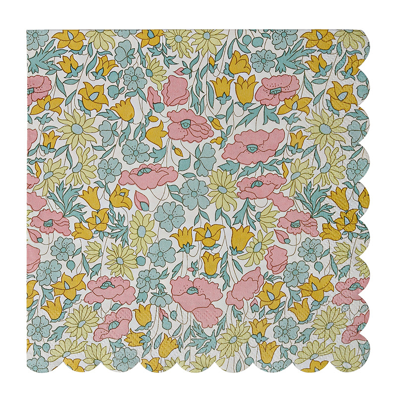 Liberty Poppy & Daisy Large Napkin
