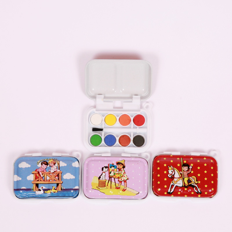 Mini vintage paint set