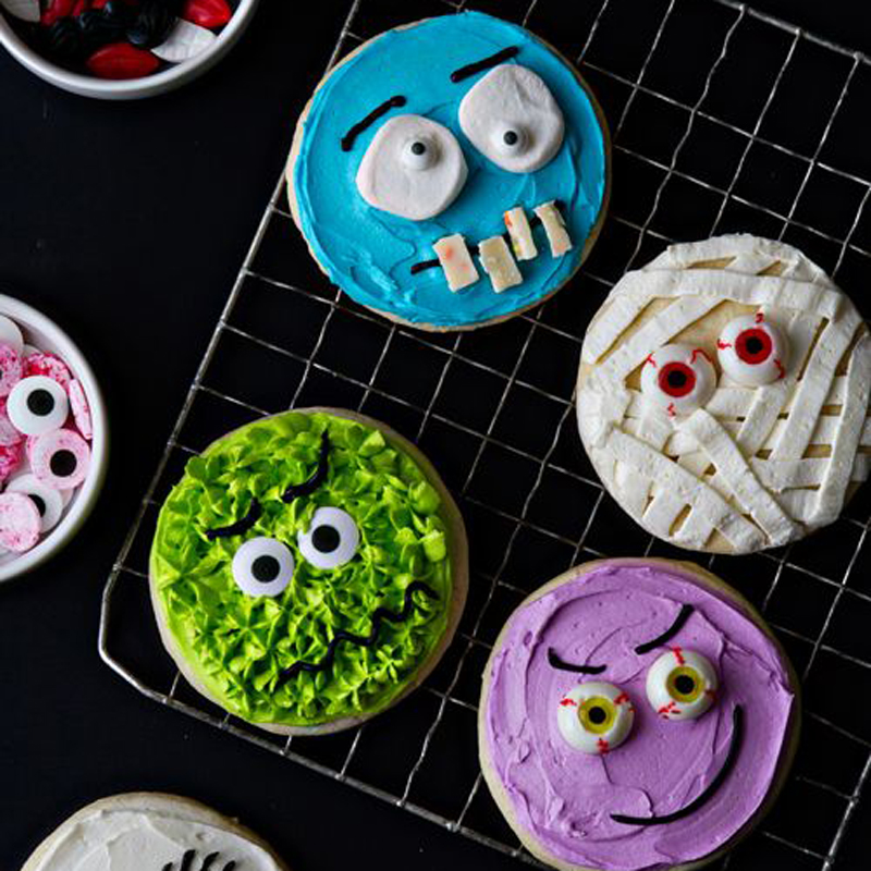 Edible creatures for Halloween