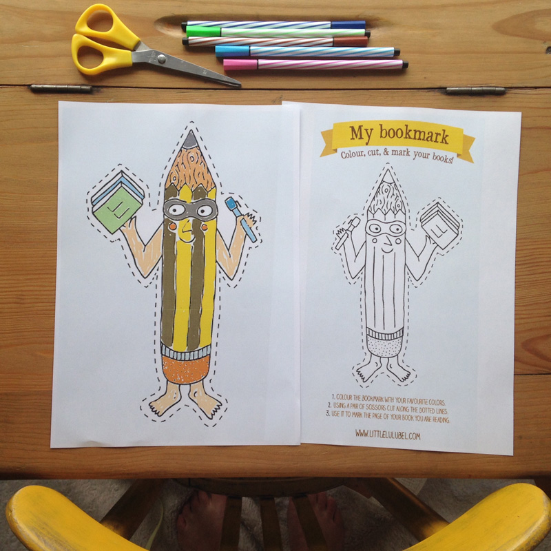 Get the children thinking about school with this great fun activity