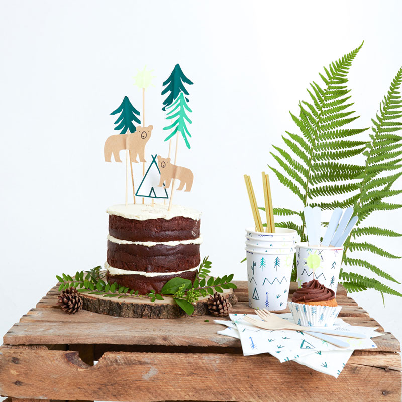 Let's Explore Cake Toppers