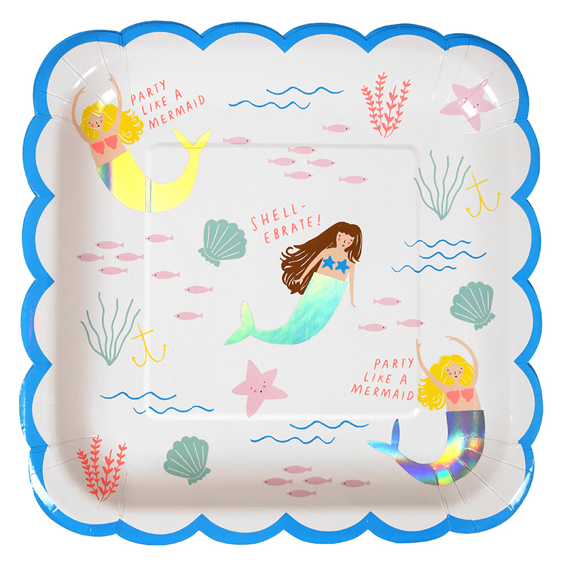 Large Mermaid Plate