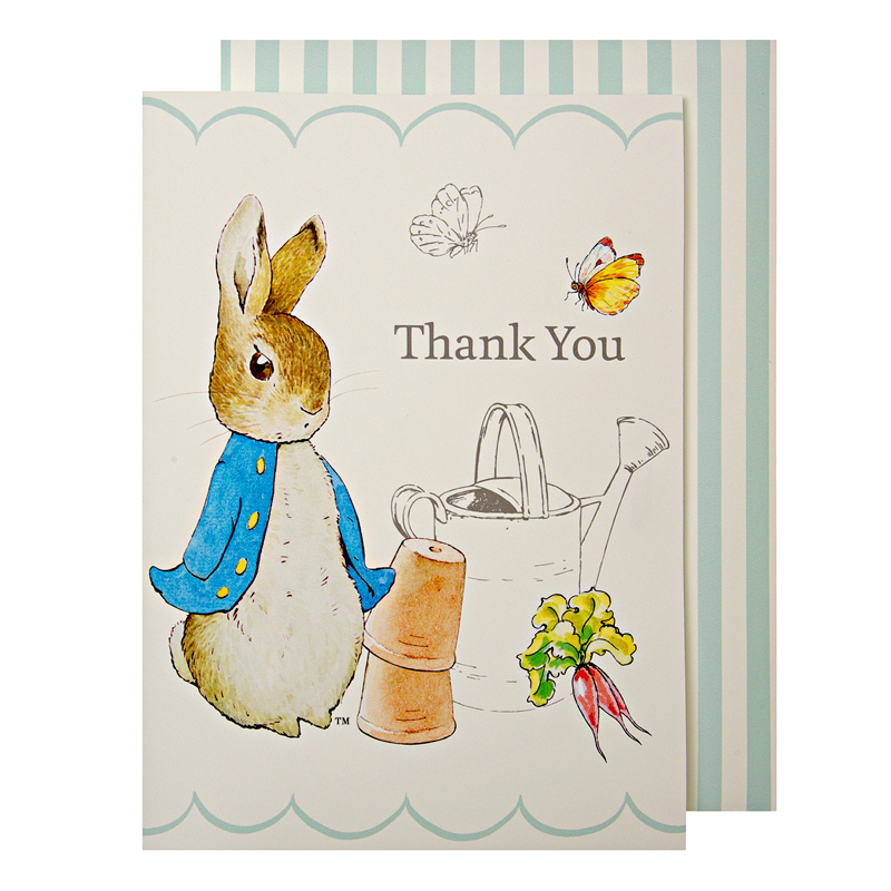 Peter Rabbit Boxed Thank You Cards
