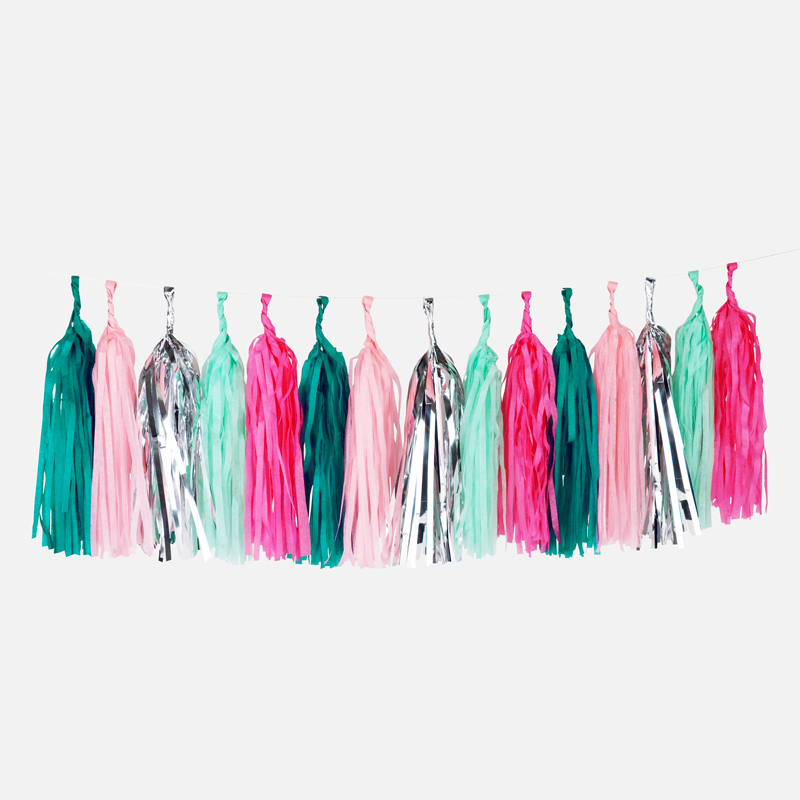 sea punk tassel garland