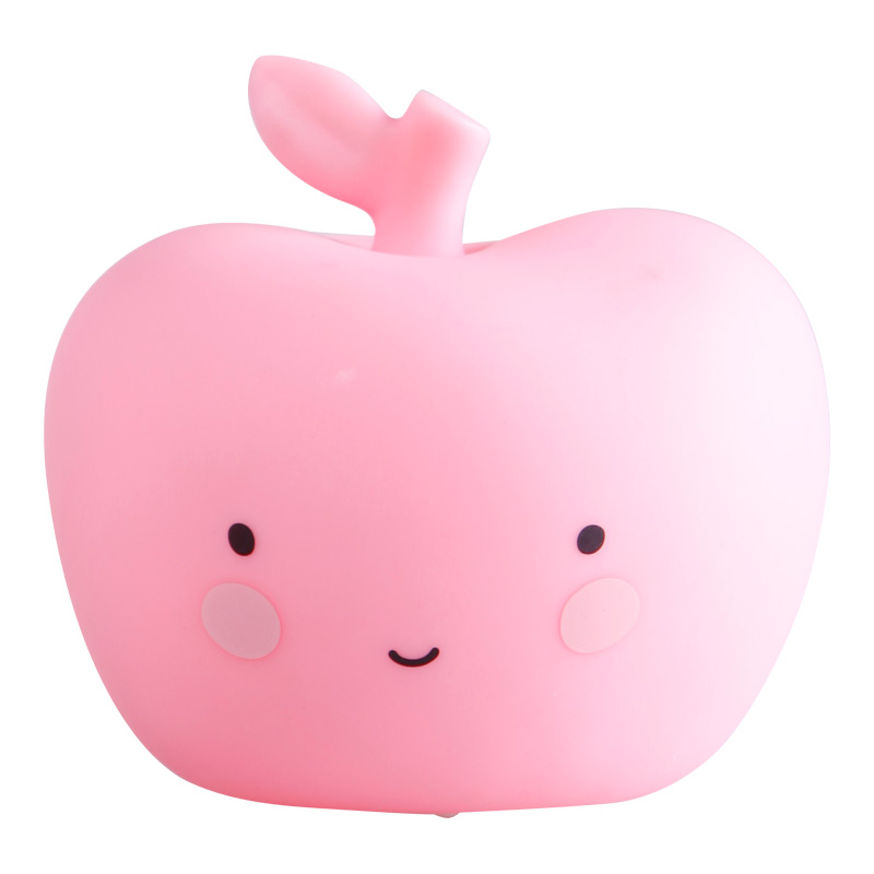 Mini pink apple LED light