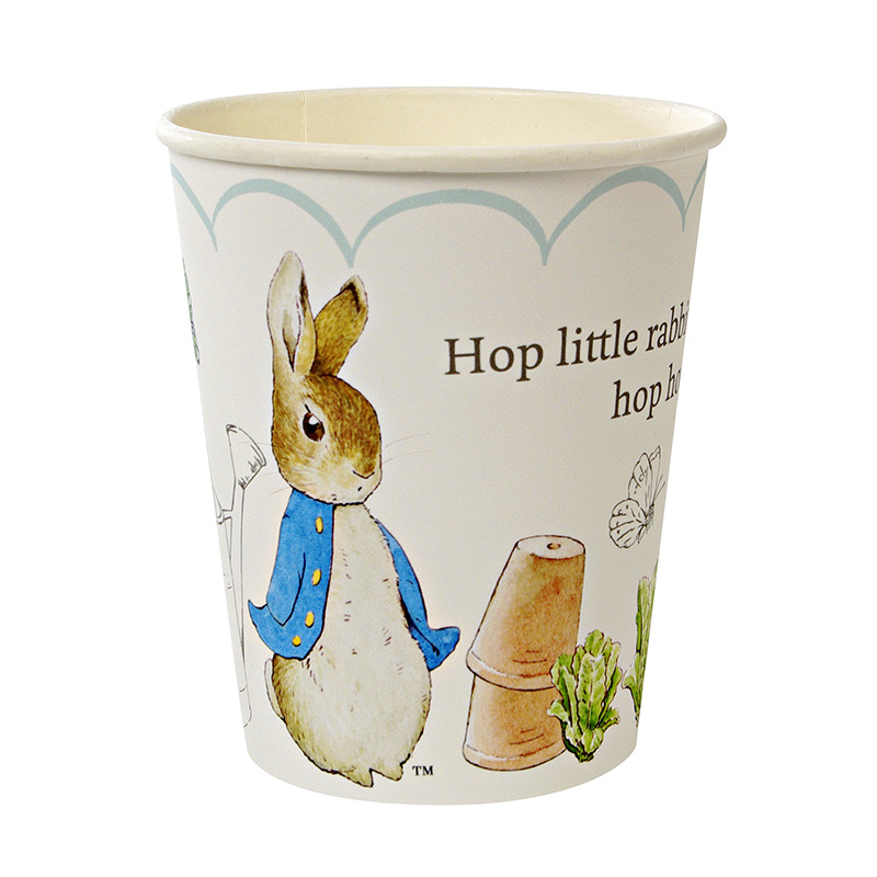 12 Peter Rabbit cups