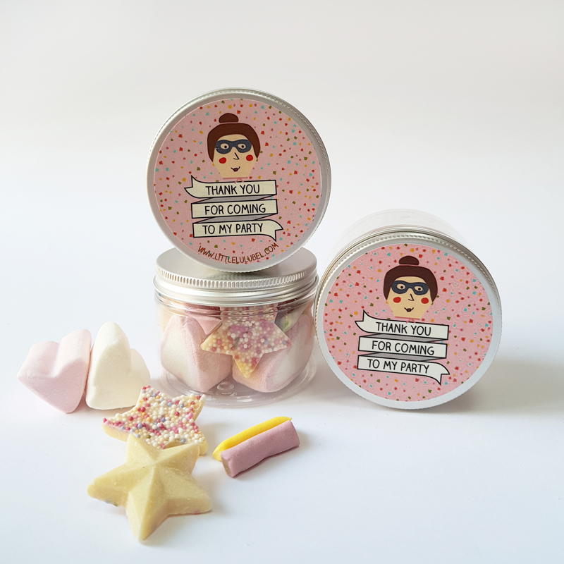 Personalised Ballerina sweets pot
