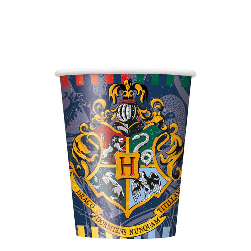 8 Harry Potter Paper cups