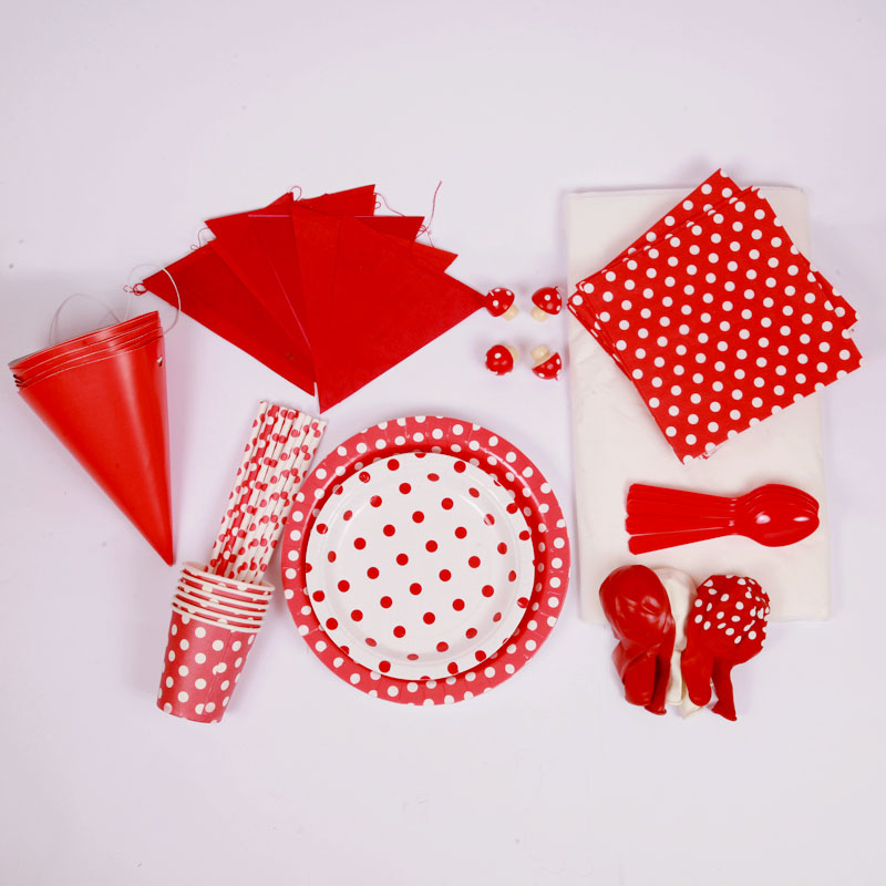 Red party kit