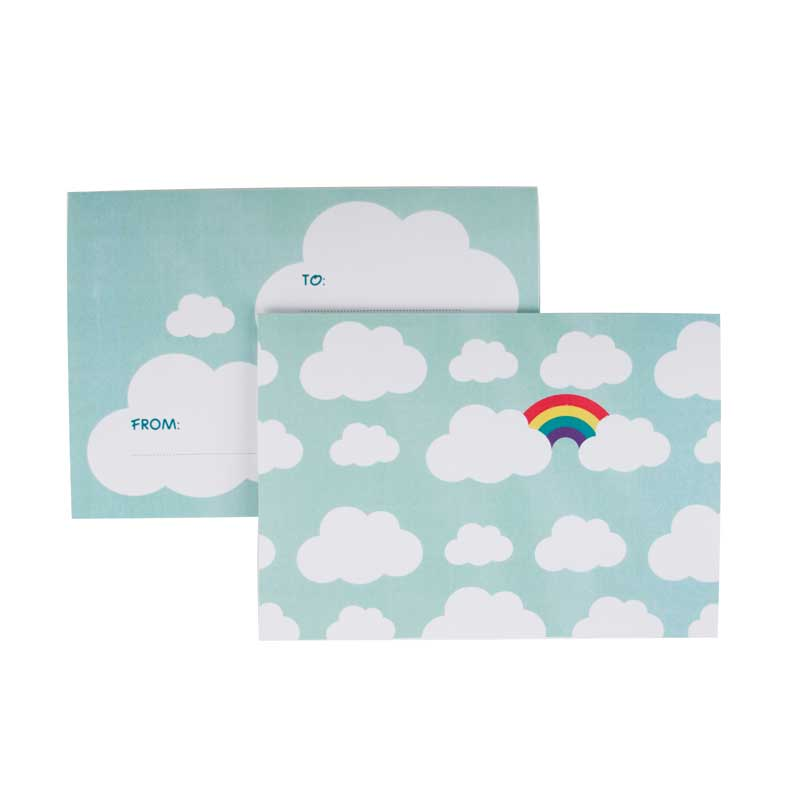 8 cloud party invitations
