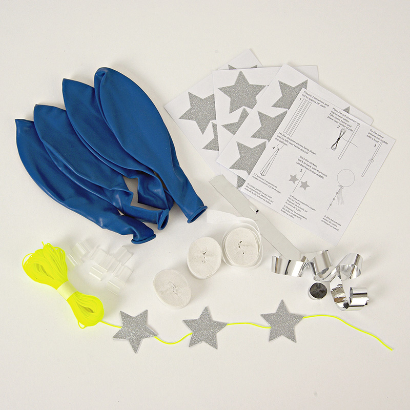 blue Balloon Kit