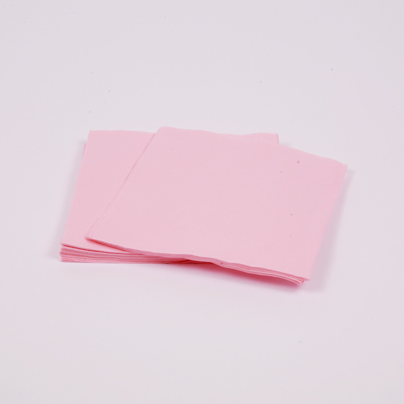20 baby pink napkins
