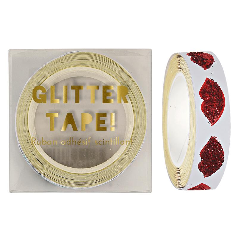 Red Lips Gift Tape