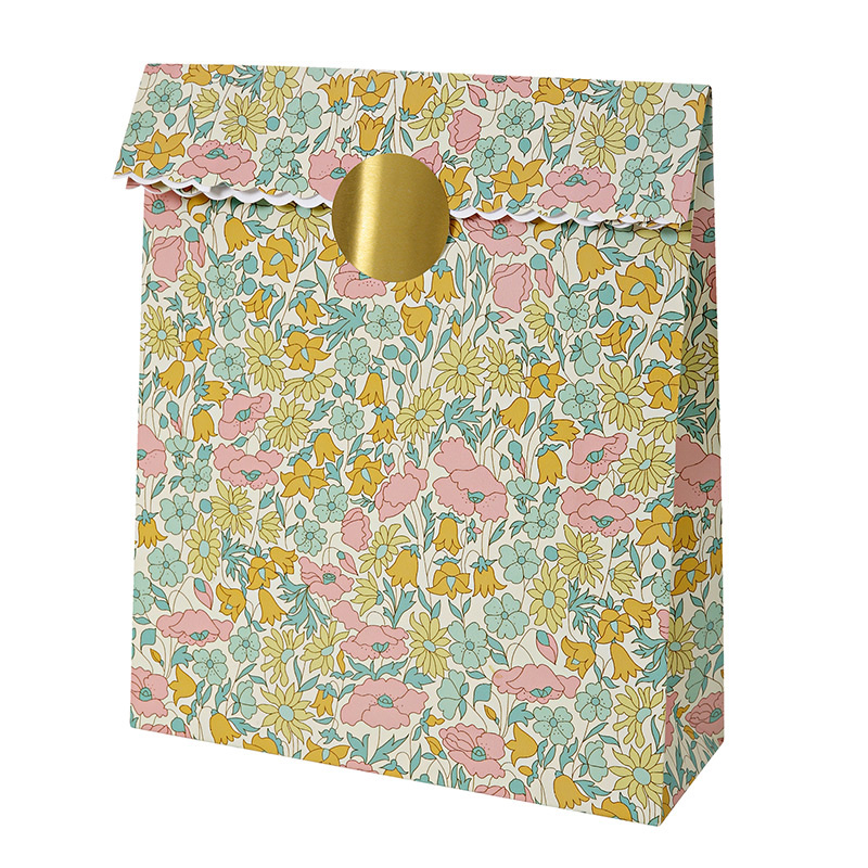 10 Liberty Poppy & Daisy Treat Bags