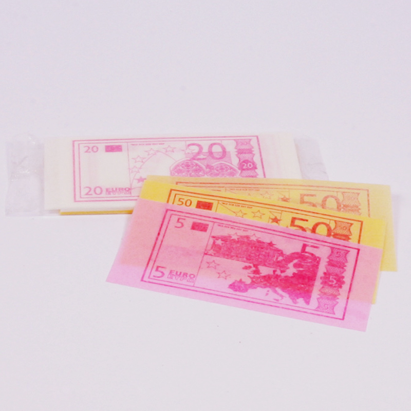 Edible paper money