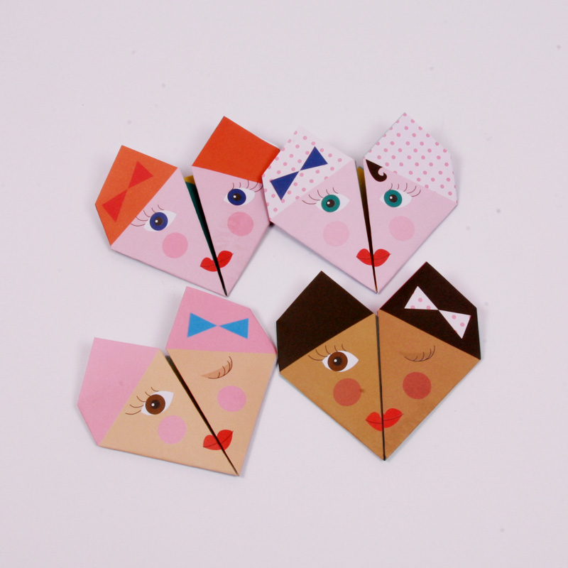 Bellas origami notes