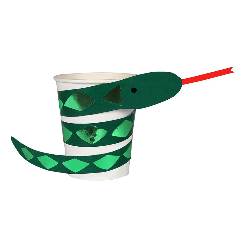 Go Wild Snake Cups