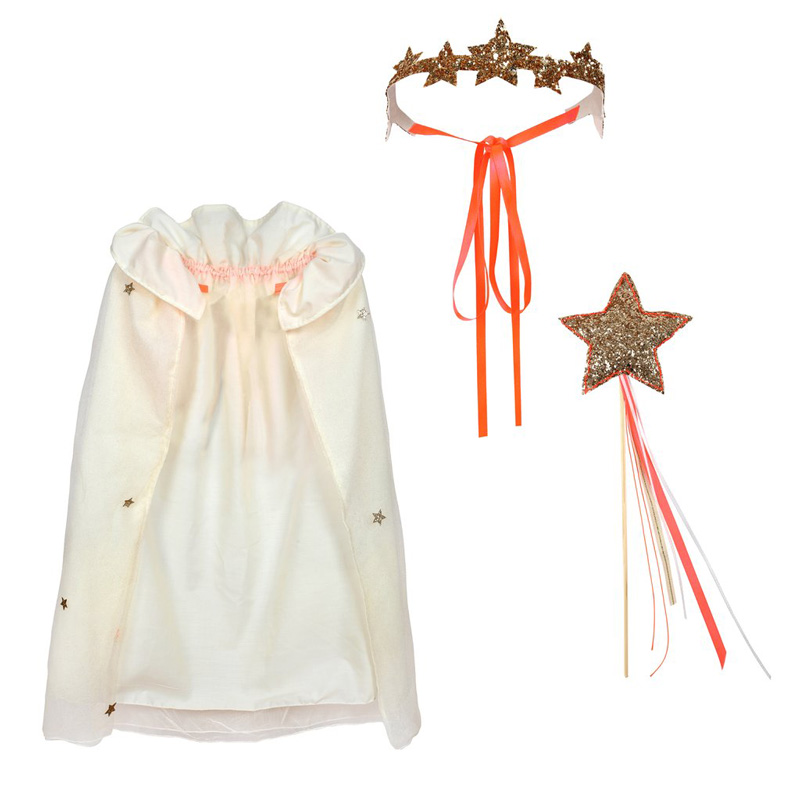 glitter princess dress up kit