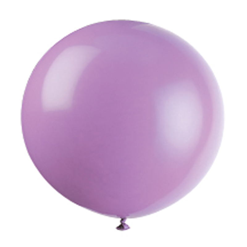 lilac giant balloon