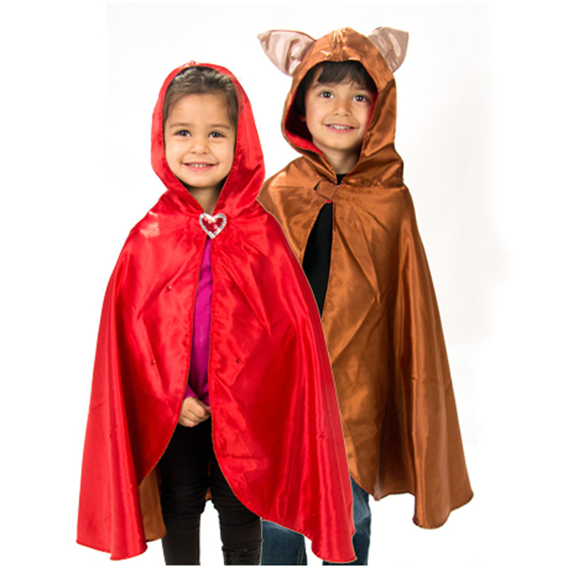 Reversible Red Riding Hood / Wolf Cape