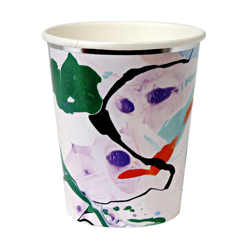 8 Marble Party Cup