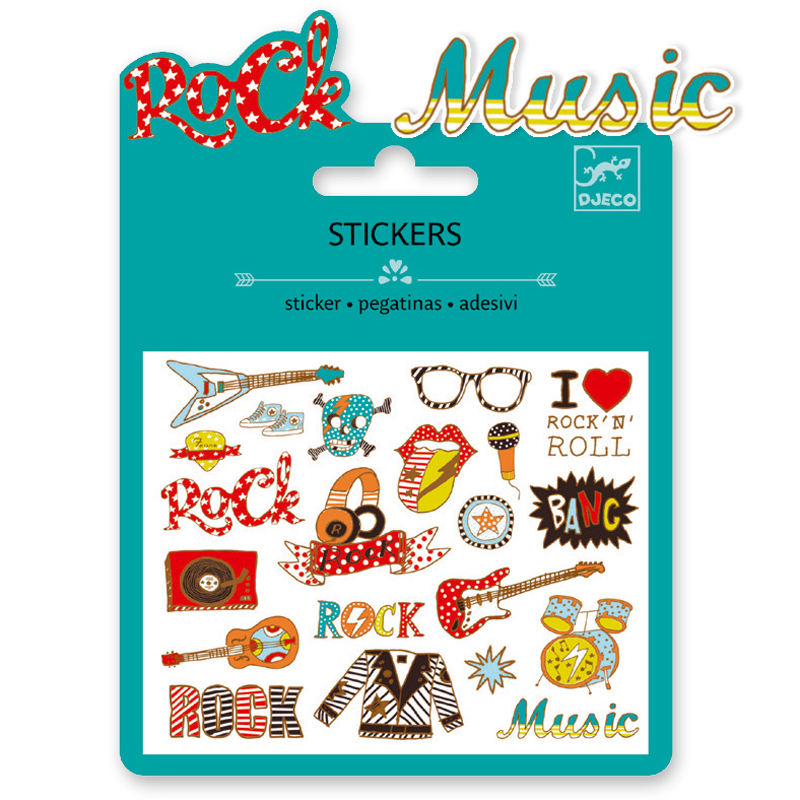 MINI STICKER - Pop and rock