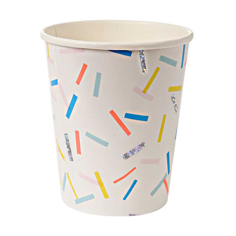8 Sprinkles Party Cups