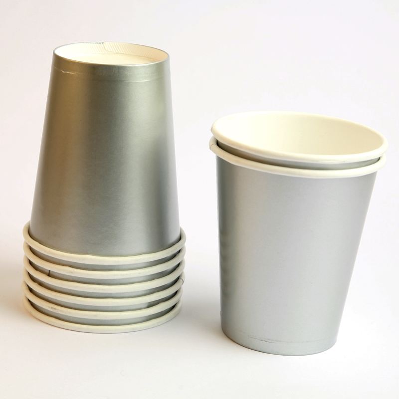8 silver cups