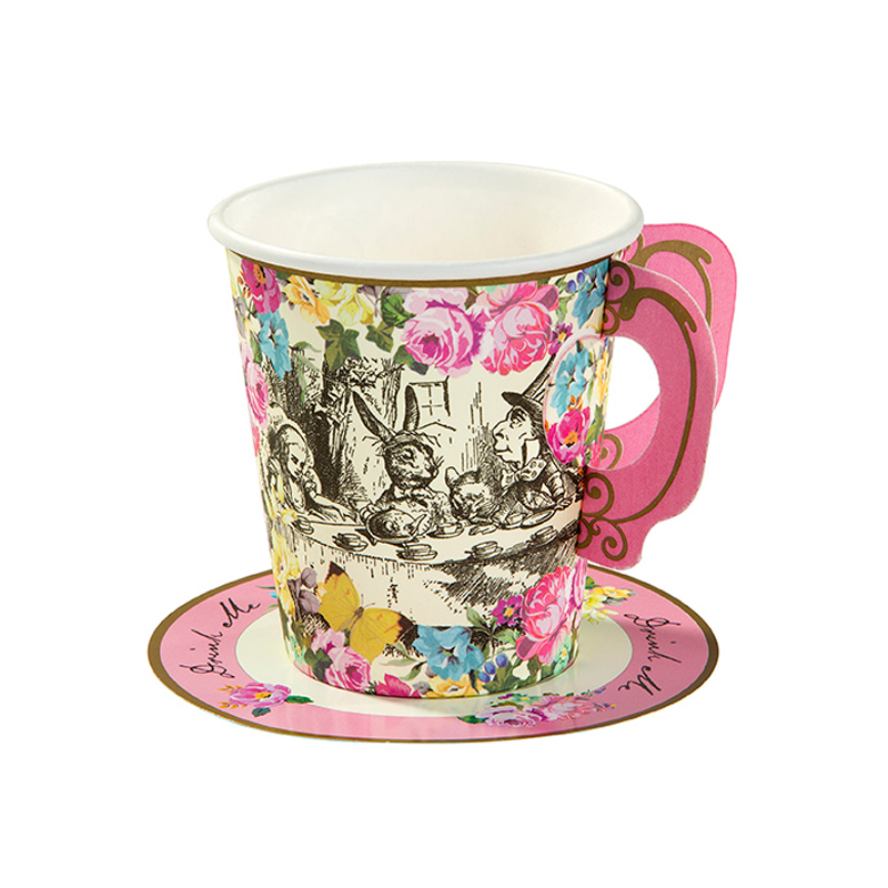 12 Alice Cup & Saucers