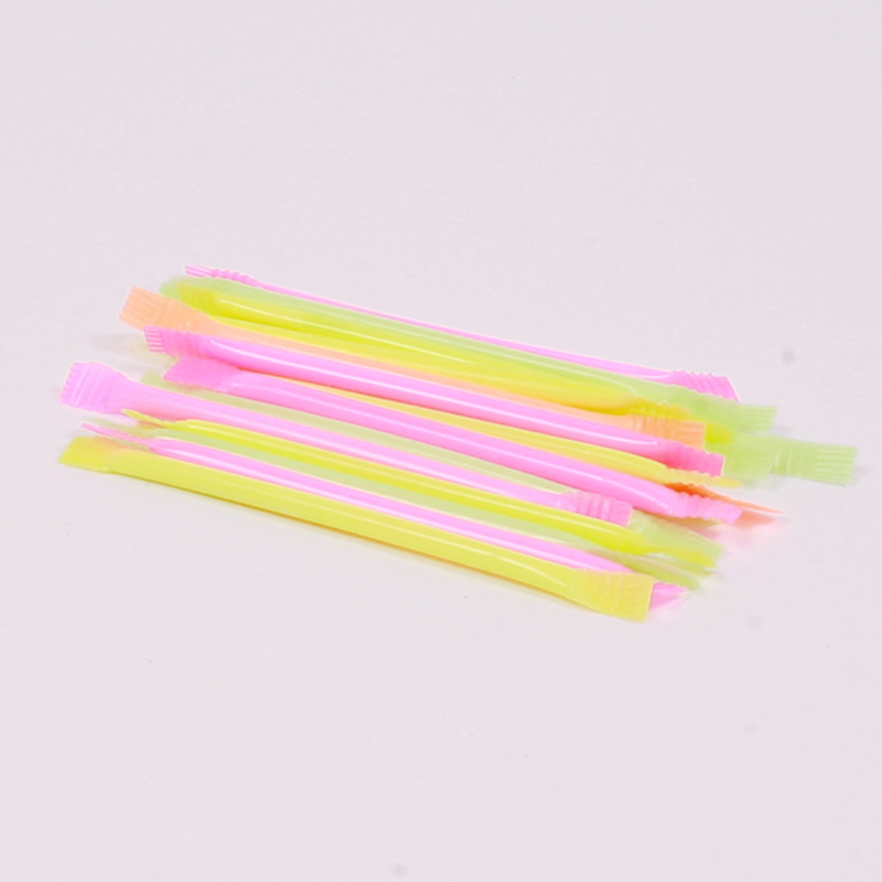 Set of 3 Rainbow dust straws