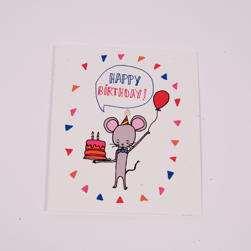 Birthday - mouse card