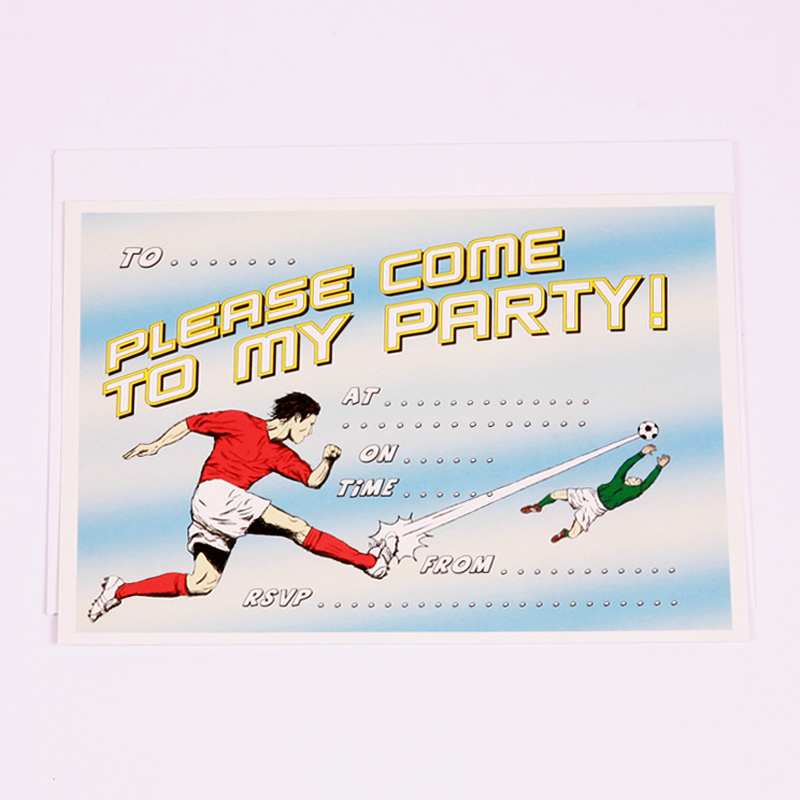 Football party invites