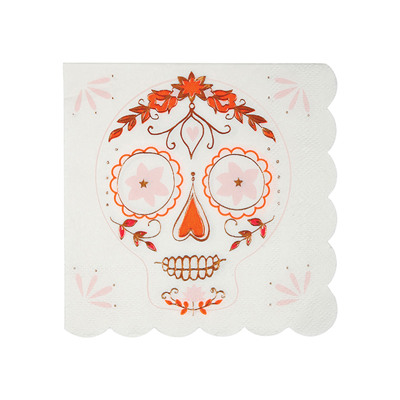 Sugar Skull small Napkins