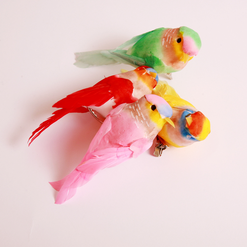 decorative birds with clip