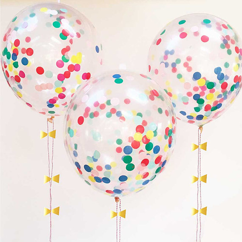 Multicolour Confetti Balloon Kit