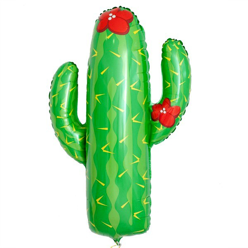 Giant Cactus foil balloon