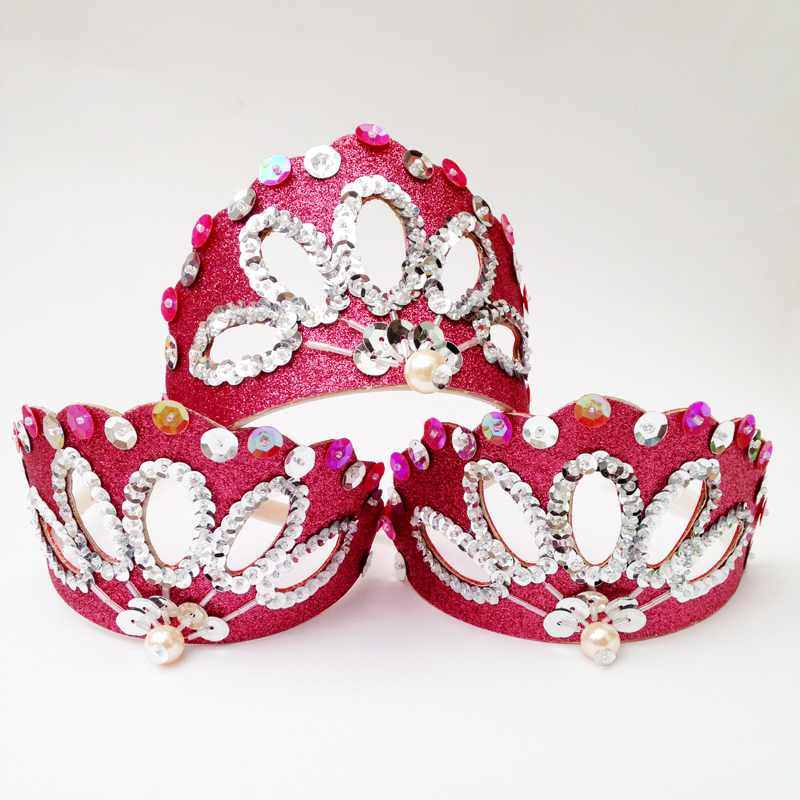 Glitter princess crown