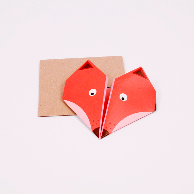 Fox origami notes