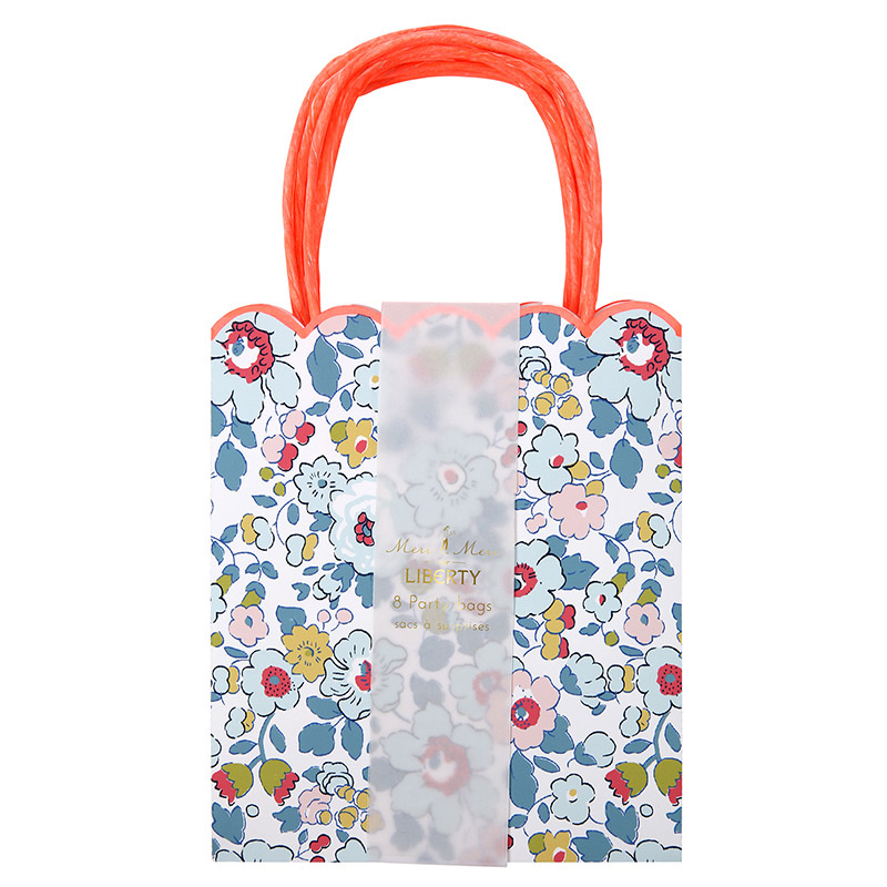 Set of 8 Liberty Betsy Party Bags
