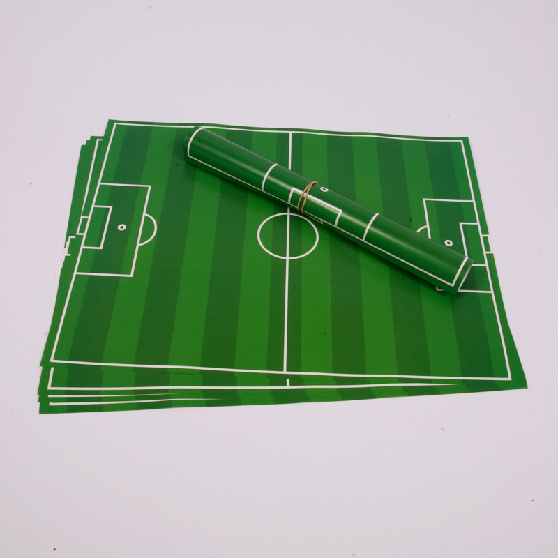 10 football placemats