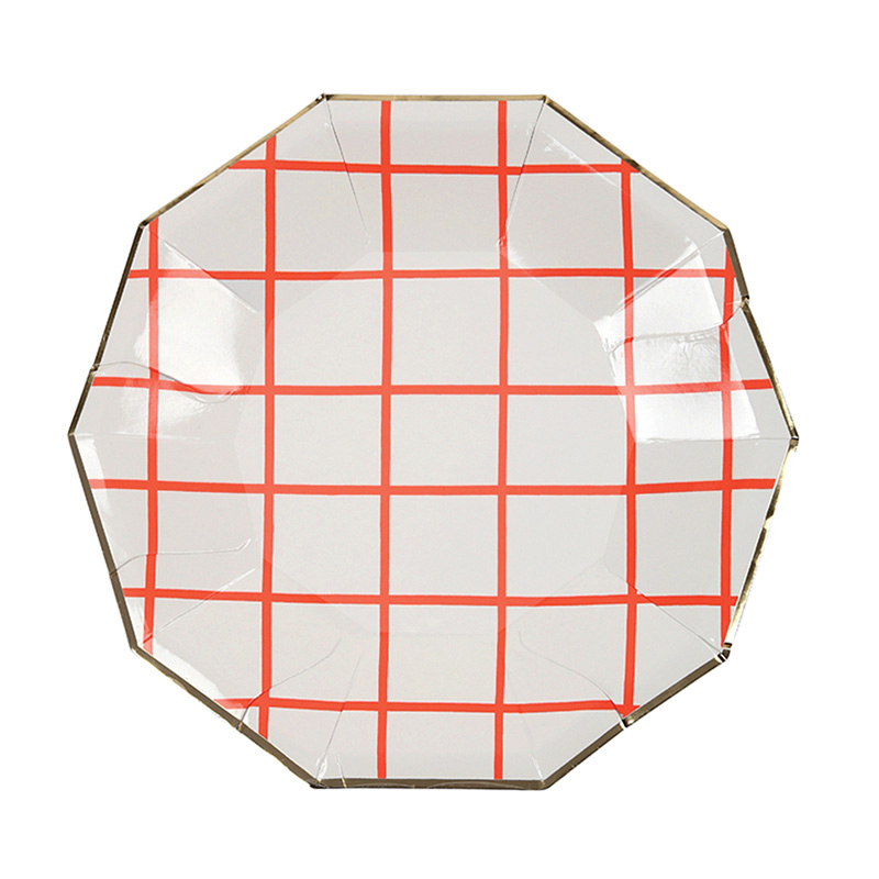 Coral Grid Small Plates